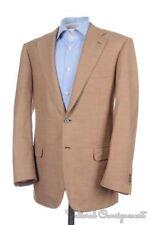 BRIONI Nomenta Brown Woven SILK MOHAIR WOOL Mens Blazer Sport Coat Jacket - 40 R