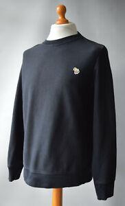 Men's Black PS by Paul Smith Crew Neckline sweatshirt Size XL.