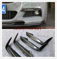 Front Bumper Canards Splitters Sport Racing Universal For BMW 3 SERIES 1 Set