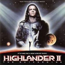 HIGHLANDER II - THE QUICKENING / CD (BRONZE/WARNER MUSIC 1991)
