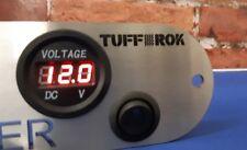 12V-24V Car Motorcycle LED DC Digital Display Voltmeter Waterproof Meter UK