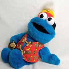 Trumpet Playing Cookie Monster Sesame Street Fisher Price Mattel (works)