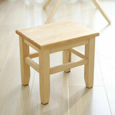 Multipurpose Solid Wood Stool Chair Household Bench Kids Low Height Wooden Stool