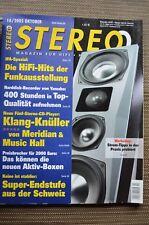 Stereo 10/05, Spendor LS 3/5a, Meridian G 08, soulution 710,b&m BM 10d, Quad 12l Pro