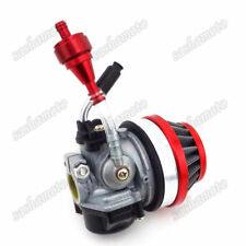 Racing Carburetor Red 49 50cc 60cc 66cc 80cc 2 Stroke Gas Motorized Bike Bicycle