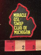 Vintage MIRACLE QSL SWAP CLUB OF MICHIGAN Amateur Radio Patch 81D2