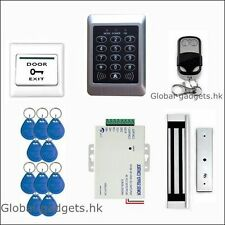 125KHZ RFID Card and Password Door Access Control System+Magnetic Lock+Remote