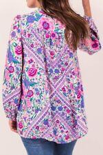 Spell Babushka Lavender Blouse M