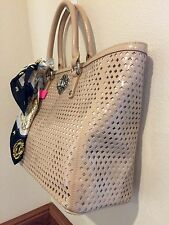 LARGE My Flat in London  mademoiselle tote nude
