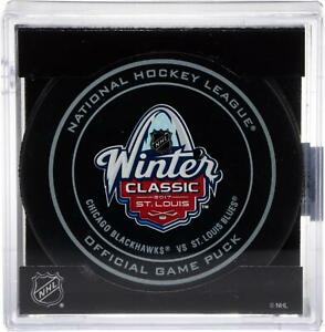 Chicago Blackhawks v St Louis Blues 2017 NHL Winter Classic Game Puck - Fanatics