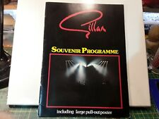 Gillan Signed Tour Programme 1982