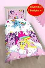 My Little Pony Equestria Set Copripiumino Singolo Biancheria da letto Bambini