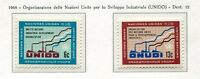 19082) UNITED NATIONS (New York) 1968 MNH** Nuovi** UNIDO