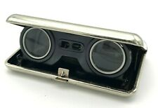 Vintage Binoculars Opera Glasses Folding 2,5x60 Theatre Cigarette Case USSR Rare