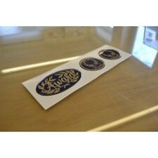 ABI Award - (RESIN DOMED) - Classic Badge Sticker Decals Graphics - SET OF 3