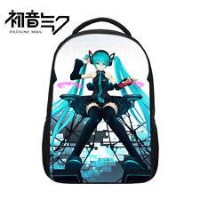 Anime Hatsune Miku Shoulder Backpack School Bag Travel Satchel Laptop Rucksack