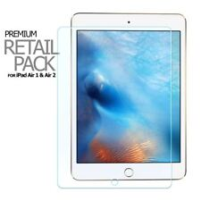 GENUINE 9H TEMPERED GLASS LCD SCREEN PROTECTOR FLAT FOR IPAD AIR & AIR2