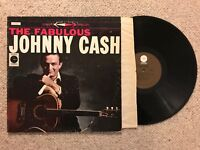 The Fabulous Johnny Cash Vinyl LP Country Vintage Rare