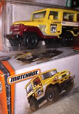Lot Of 2 Matchbox Power Grabs Sealed Box & Blister Pack Toyota Land Cruiser FJ40