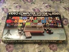 Atari 2600 CX-2600 Light Sixer Woodgrain Console Boxed w/12 games