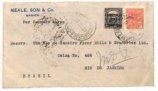 AE112 1931 Brazil Rio De Janeiro Cover {samwells-covers}