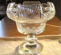 """Vintage Waterford Crystal Centerpiece Bowl Master Cutter Collection 10""""Org Owner"""