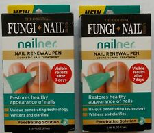 Lot of (2) Fungi Nail Renewal Pen ~ Cosmetic Nail Treatment Whitens & Clarifies