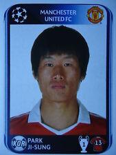 Panini 152 Park Ji-Sung Manchester United UEFA CL 2010/11