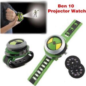 Ben10 Projektor Uhr Alien Force Omnitrix Illumintator Armband Kinder Spielzeug