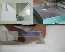 "3mm Two Way / See-Thru Mirror Acrylic Sheet A6 A5 A4 A3 .125 x 24"" x 48"" 2 Way"