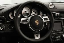 Porsche Leather Paddle Steering Wheel  - 997.2 987.2 PDK Carrera Boxster Cayman