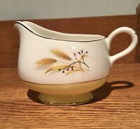 MCM Century Service Autumn Gold Wheat Dinnerware Gravy Sauce Boat Pitcher