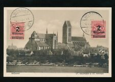 Germany WISMAR St Georgen St Marien c1923 PPC nice inflation franking