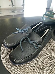 Size 10 - Salvatore Ferragamo Mens Black