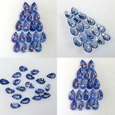 Lot de 18 Saphirs du Sri Lanka, taille poire/4,40 carats