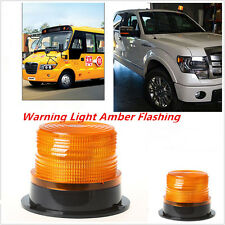 Car Warning Light Amber 24 LED Flashing Strobe Beacon Emergency Light 12V 24V