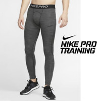 Nike Pro Mens Novelty Compression Training Tights Pants Black size Small Medium
