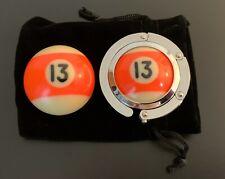 Pool Ball Hanger & Pocket Marker Set (13 Ball)