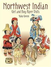 Northwest Indian Girl and Boy Paper Dolls