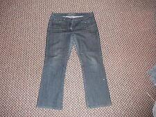 "Cherokee Classic Fit Jeans Ladies Size 14 Leg 28"" Faded Dark Blue Ladies Jeans"