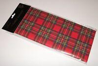 Royal Stewart Red Tartan Paper Table Runner 4m x 32.5cm AP2130 Burns Night
