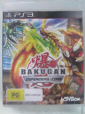 BAKUGAN DEFENDERS OF THE CORE PS3