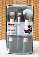 REAL TECHNIQUES by Samantha Chapman Travel Essentials Brush Set NEW!