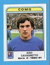 PANINI CALCIATORI 1980/81 - Figurina n.145- CAVAGNETTO - COMO -NEW