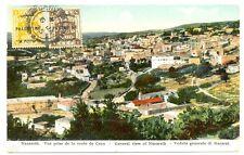 PALESTINA 1925  PPC  NAZARETH  TO AUSTRIA   VF