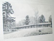 Snow Hill Motel Postcard – Lincolnville Beach, Maine (circa 1960s)