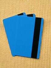 25 Magnetkarten blau, Kundenkarten, Tankkarten, Plastikkarten, PVC Karten