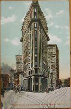 1907 PC: Broad & Peachtree Streets- Atlanta, Georgia GA