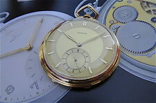 18K750 dressed Zenith pocket watch 16''' (lignes) excellent conditions