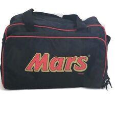Vintage 1980s Mars Candy Duffel Gym Sports Bag Black